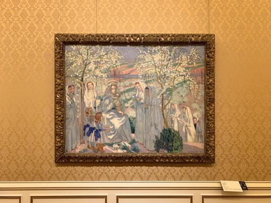 「聖書の画家」といわれたモーリス・ドニ「聖母月」イエス降臨を祝う美しく悦ばしい5月。