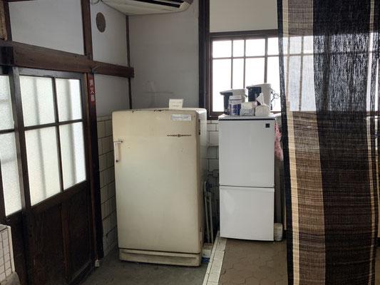 アメリカG.E製の大きな冷蔵庫