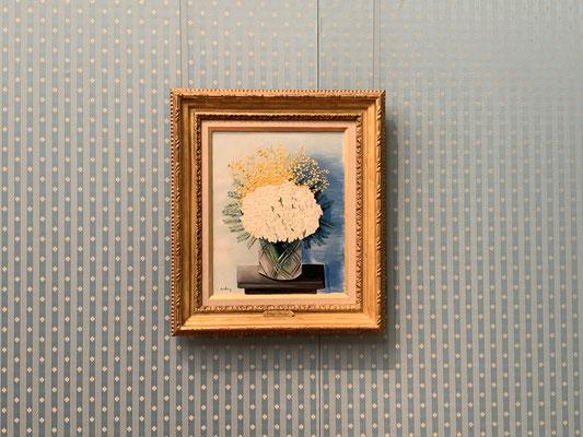 モイーズ・キスリング「ミモザとヒヤシンス」分かりやすい美しさの絵画にほっとします