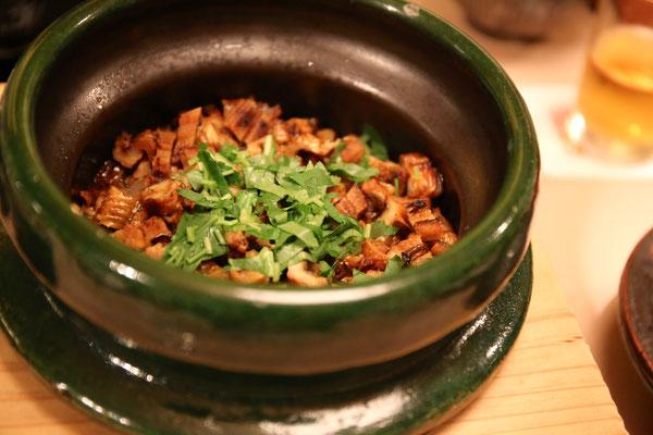 穴子の炊き込みご飯は絶品過ぎます