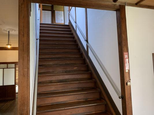 階段幅がこれ位あるといいですね