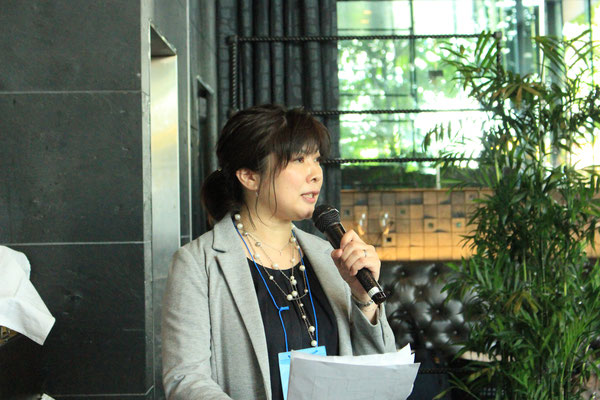 懇親会の司会進行をして下さったのは宮田さん