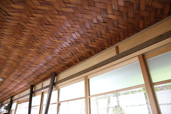 網代の天井