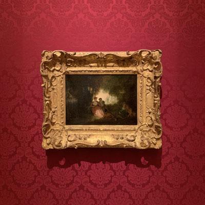 ロココの画家 ジャン=アントワーヌ・ヴァトー「夏の木陰」日本ではほとんど見れない作品だそうです