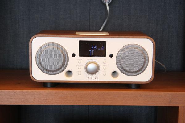 BluetoothでiPhoneやMacの音楽を再生出来ます。AULUXE/オーラックスのスピーカー。