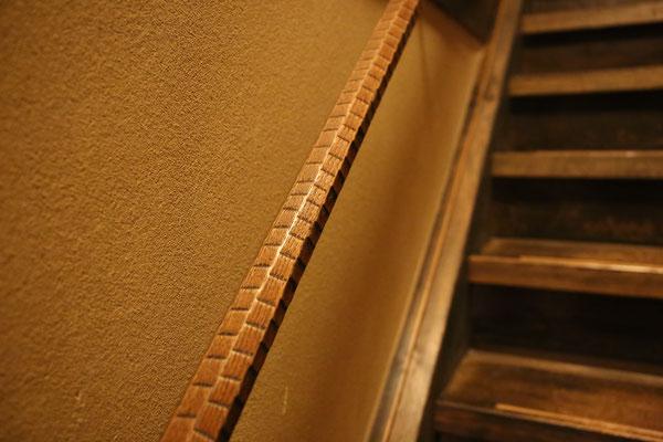階段の手すりまで美しい