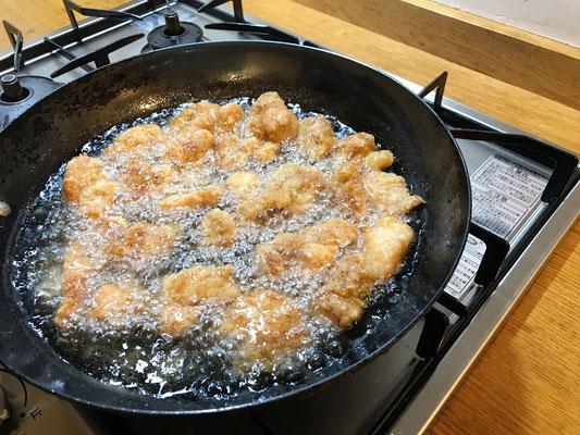 土井善晴さんレシピの鶏の唐揚げ