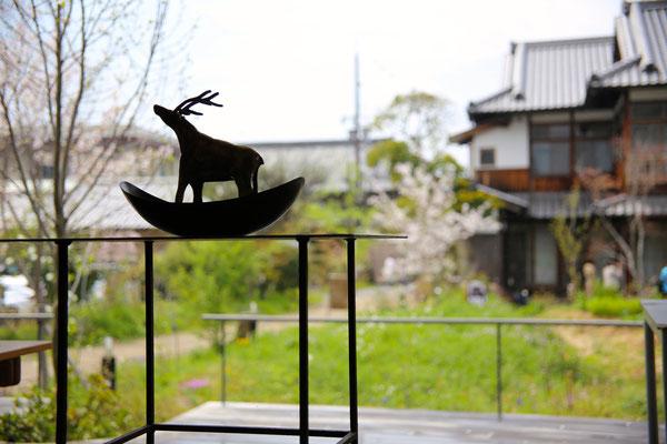 鹿の舟|囀 Saezuri