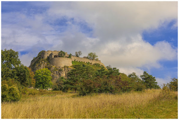 Hohentwiel - Blick auf die Obere Festung 8170