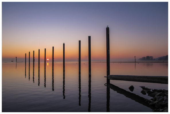 8398 Sonnenaufgang über dem Bodensee bei Moos