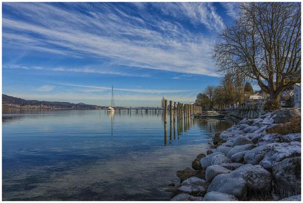 Bodman - Uferbereich mit Jachthafen 5861