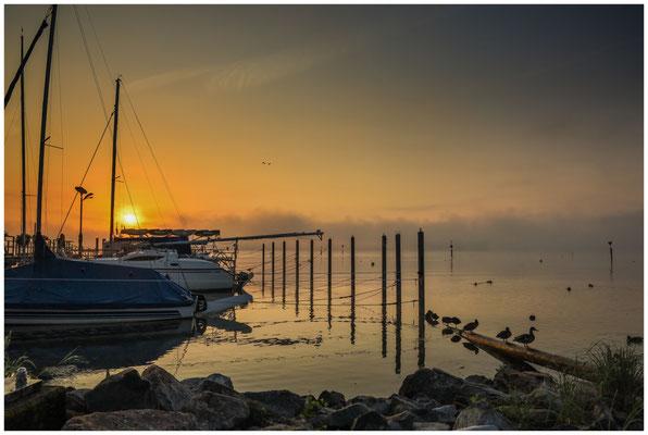 Sonnenaufgang über dem Zeller See 3516