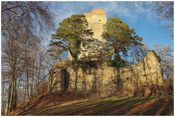 Ruine Altbodman 1750