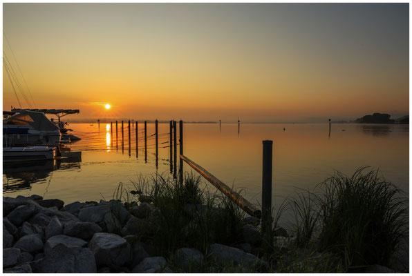 Sonnenaufgang über dem Zeller See 0561