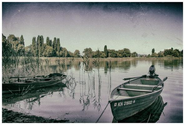 Fischerboote auf der Insel Reichenau 9624