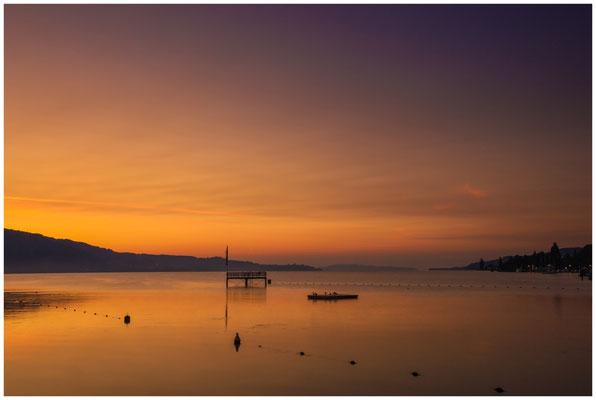 Morgendämmerung Überlinger See bei Bodman 3936