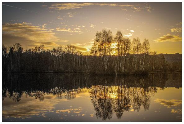 Sonnenuntergang am Nillsee 7391