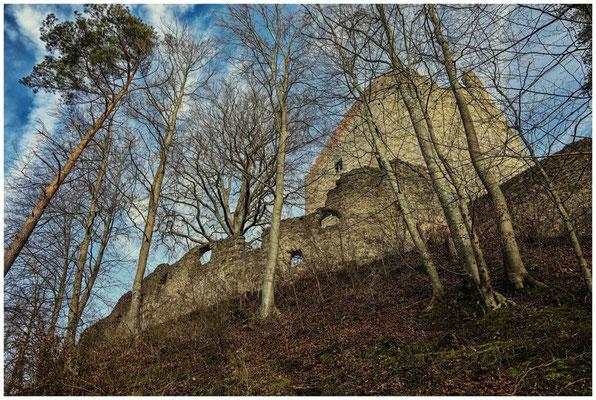 Ruine Altbodman 1719