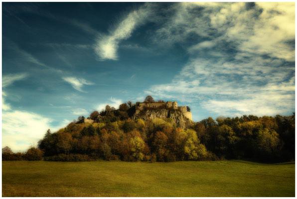 Burgruine Hohentwiel bei Singen 1272