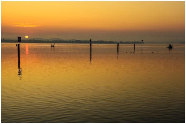 Sonnenaufgang über dem Zeller See 0529