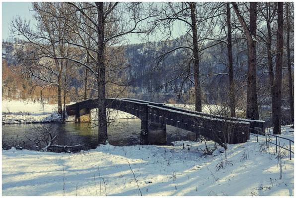 Brücke über die Donau bei Beuron 5752