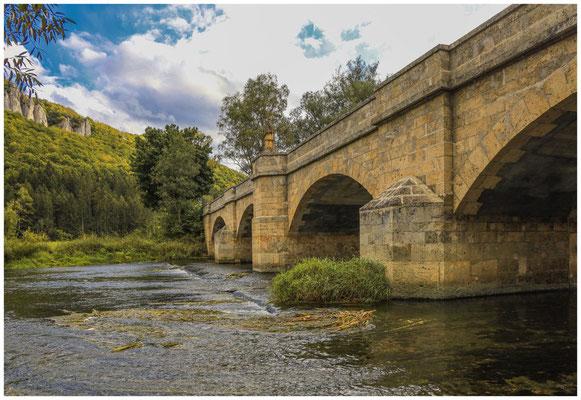 Brücke über die Donau bei Hausen im Tal 8412