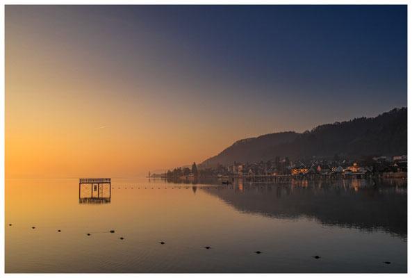 Überlinger See - Bodman im Mogenlicht 3117