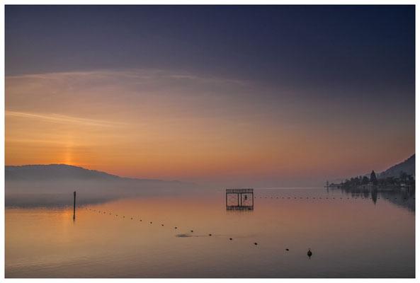 Überlinger See mit Bodman kurz vor Sonnenaufgang 3075