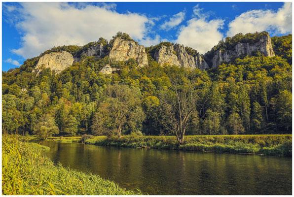 Blick auf die Donau bei Hausen im Tal 8409