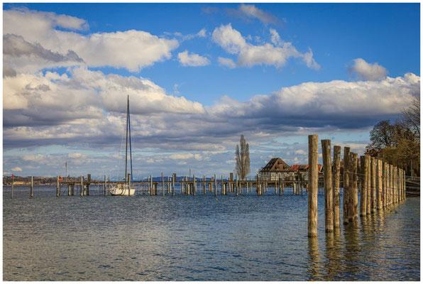 Bodman mit Blick auf die alte Greth und den Überlinger See 2013