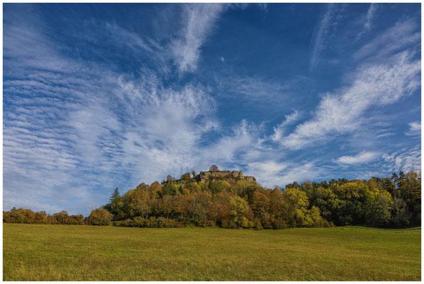 Burgruine Hohentwiel bei Singen 1243