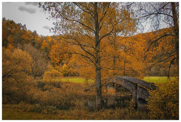 6829 Alte Steinbrücke bei Beuron