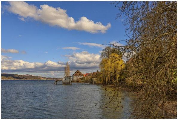 Bodman mit Blick auf die alte Greth und den Überlinger See 2023