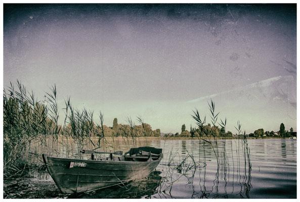 Fischerboot auf der Insel Reichenau 9599