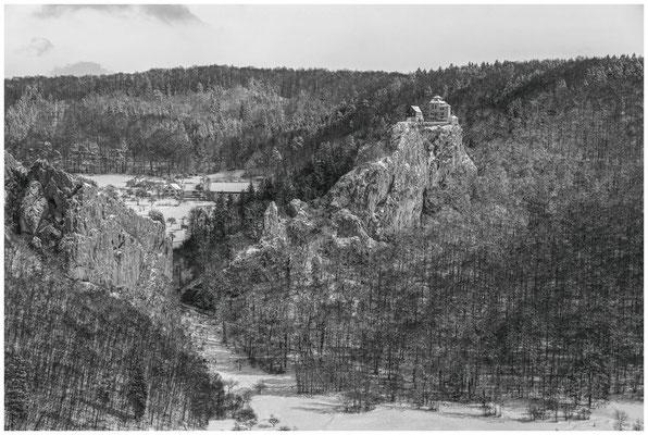Schloss Bronnen im Donautal 5745