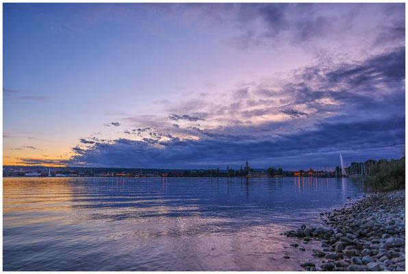 Konstanz nach Sonnenuntergang 0947