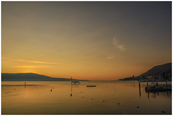 Morgendämmerung Überlinger See bei Bodman 4007