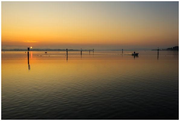 Sonnenaufgang über dem Zeller See 0530