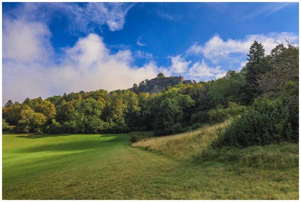 Hohentwiel - Blick auf die Obere Festung 8137