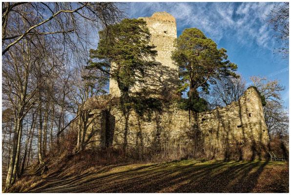 Ruine Altbodman 1751