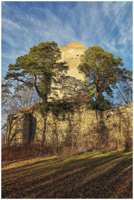 Ruine Altbodman 1748
