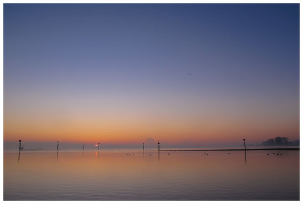 8394 Sonnenaufgang über dem Bodensee bei Moos