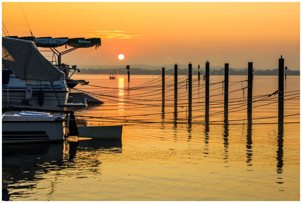 Sonnenaufgang über dem Zeller See 0536