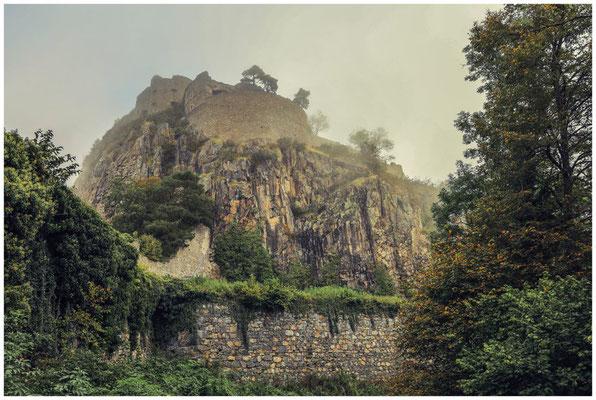 Obere Festung Hohentwiel mit Blick auf das Rondell Augusta 8107