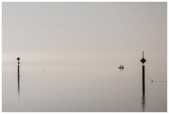 Fischerboot vor Moos 3408
