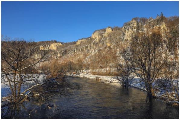 Die Donau bei Beuron 5822