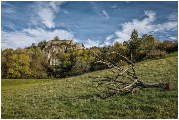 Burgruine Hohentwiel bei Singen 1258