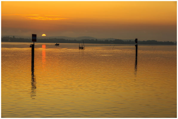 Sonnenaufgang über dem Zeller See 0526