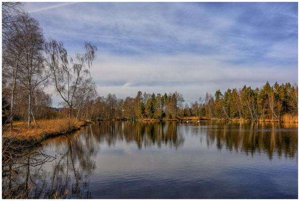 Moorsee im Pfrunger-Burgweiler Ried 1798
