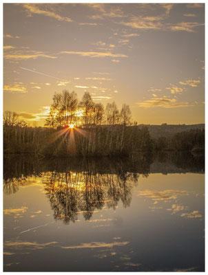 Sonnenuntergang am Nillsee 7389